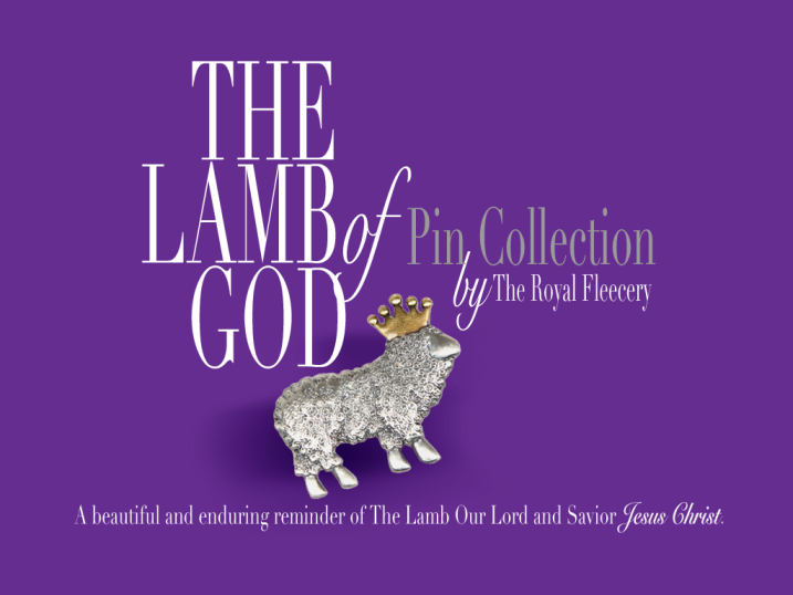 The Lamb of God Pin Collection - A beautiful and enduring reminder of The Lamb Our Saviour Jesus Christ.